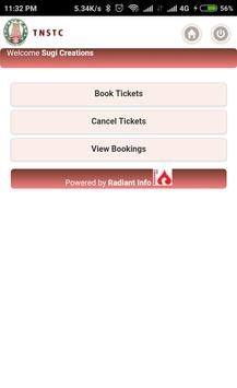 TNSTC BUS BOOKING & RED BUS TWO IN ONE apk screenshot