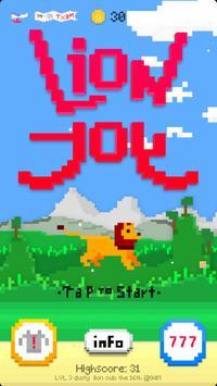 Lion Joy poster