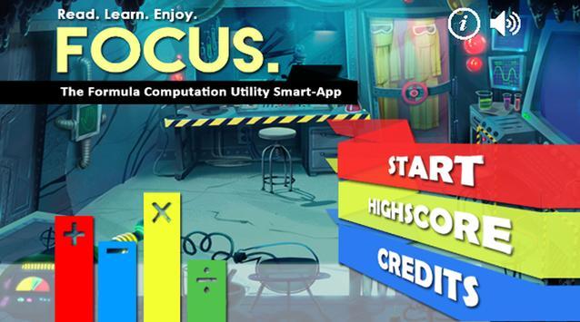 FOCUS: The Formula Smart-App poster