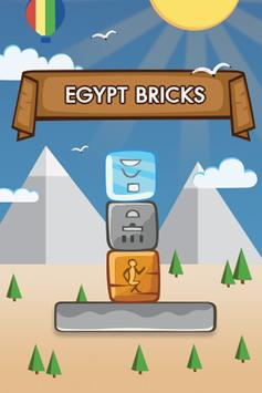 Egypt Bricks poster