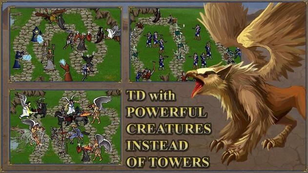 TDMM Heroes 3 TD:Medieval ages Tower Defence games apk screenshot