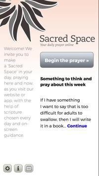 Sacred Space apk screenshot