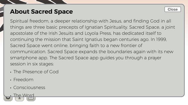 Sacred Space screenshot 2