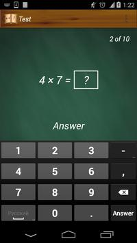 Learn and multiply (free) apk screenshot