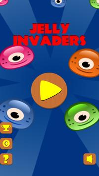 Jelly Invaders : UFO Invasion poster