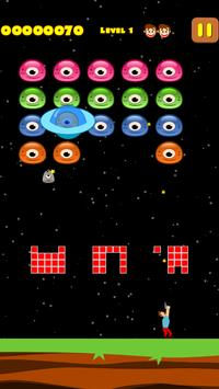 Jelly Invaders : UFO Invasion apk screenshot