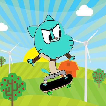 Gumball Skate Run poster
