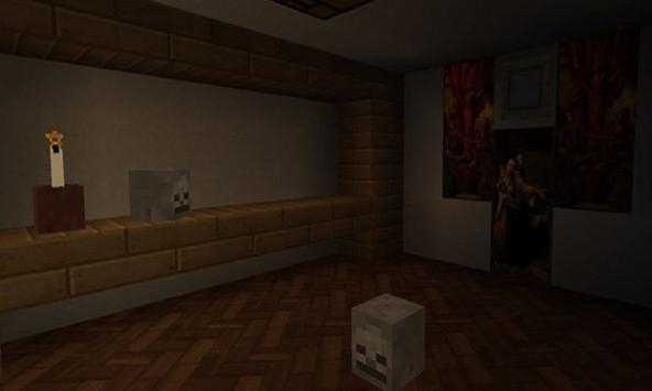 Map Cursed (Horror) for MCPE apk screenshot
