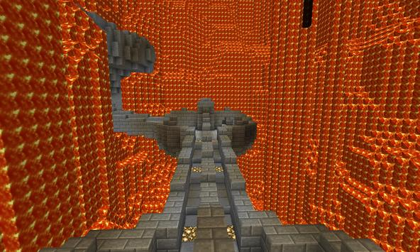 Map Deathrun for MCPE poster