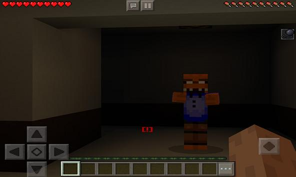 Map One Night at Pizzeria (Horror) for MCPE poster