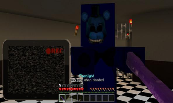 Map One Night at Pizzeria (Horror) for MCPE apk screenshot