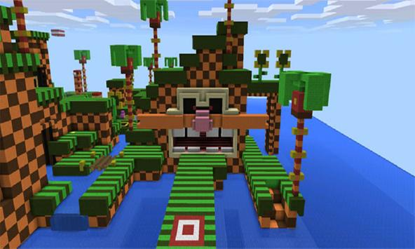 Map Sonic Parkour for MCPE screenshot 2