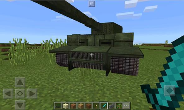 Mod Tank for MCPE apk screenshot