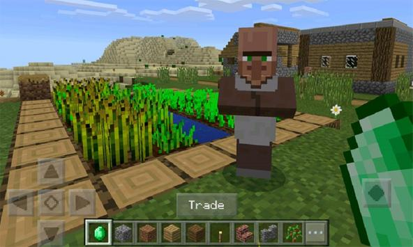 Mod Trade With Villager for MCPE poster