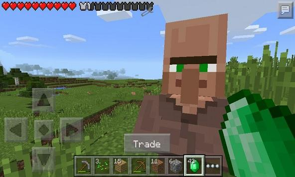 Mod Trade With Villager for MCPE apk screenshot