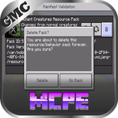 Mod DeletePack Unlocker for MCPE icon