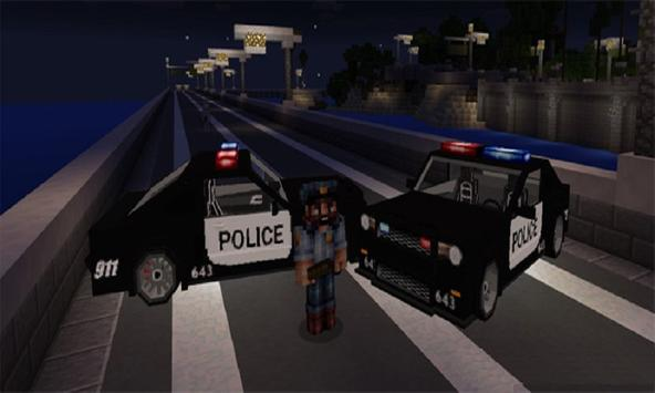 Mod Police Car for MCPE poster