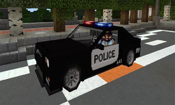 Mod Police Car for MCPE apk screenshot
