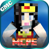 Mod Super Girl for MCPE icon