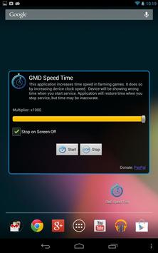 GMD Speed Time (Lite) ★ root screenshot 1