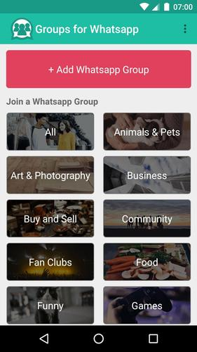 Groups for Whatsapp for Android - APK Download
