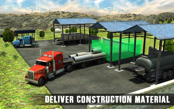 Offroad Pickup Truck Cargo Transport Mania 3D Sim apk screenshot