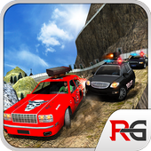 Offroad Police Car Chase Crime icon