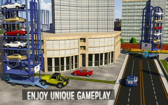 Car Transport Truck Crane 2k17 apk screenshot