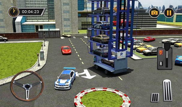 Smart Car Parking Crane Driver 3D Sim: Multi Level screenshot 15