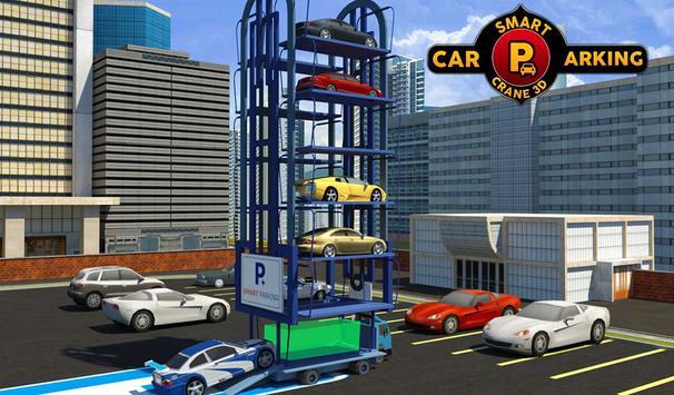 Smart Car Parking Crane Driver 3D Sim: Multi Level screenshot 11