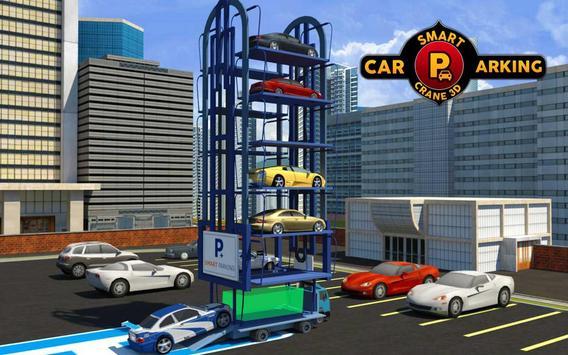 Smart Car Parking Crane Driver 3D Sim: Multi Level screenshot 6