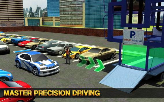 Smart Car Parking Crane Driver 3D Sim: Multi Level screenshot 8