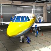Real Plane Mechanic Garage Sim icon