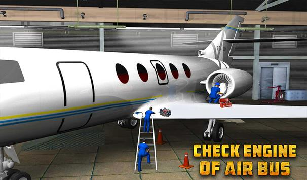 Real Plane Mechanic Garage Sim apk screenshot