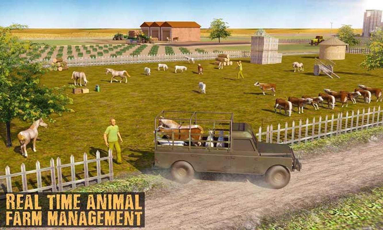 Ranch Farmer Simulator 2018 Animal Farm Manager For