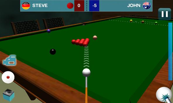 Live Snooker Play HD 3D 2016 apk screenshot