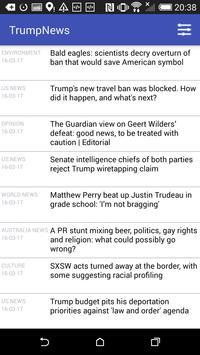 Trump News screenshot 2