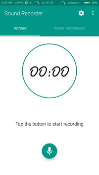 Sound Recorder - simple , easy poster