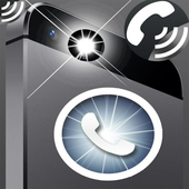 Led Flash alert on call & sms icon