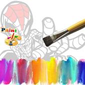 Spider Man paint icon