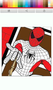Spider Man paint poster
