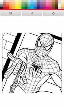Spider Man paint apk screenshot