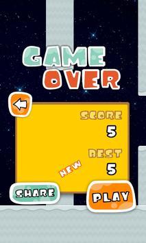 Clumsy Floppy Bird Jetpack screenshot 3