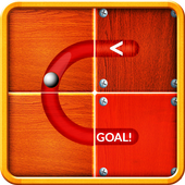 Slide Puzzle to Unblock the Ball icon