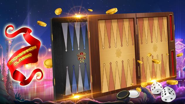 Backgammon Classic – Play Free board Game 🎲 poster