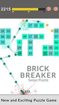 Bricks Breaker Swipe Puzzle screenshot 8