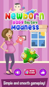 Newborn Baby Day Care Madness poster