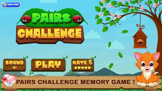 Pairs Challenge Matching Game poster