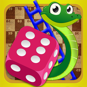 Snakes and Ladders Dice Free icon