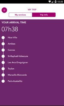 Paris-Nice SNCF Intercités apk screenshot